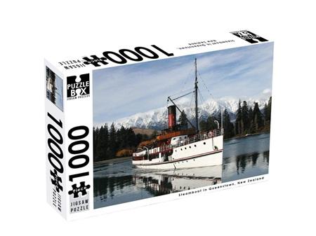 Premium Cut 1000 Piece Puzzle Steamboat in Queenstown
