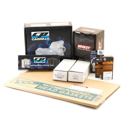 Premium SR20VET Engine Rebuild Package - Mazworx Fasteners & Tomei 1.0mm Head Gasket