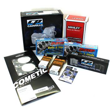 Premium SR20VET Engine Rebuild Package - Mazworx Fasteners & Tomei 1.2mm Head Gasket