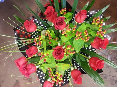 PREMIUM VALENTINES ** 12 ROSES **