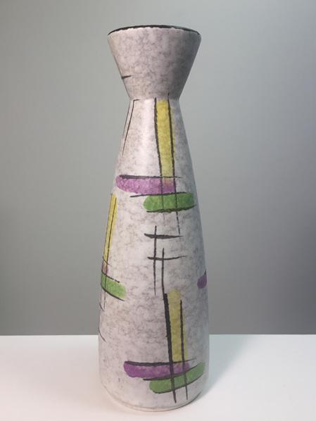 Pretty 1950s Bay Keramik West German Vase