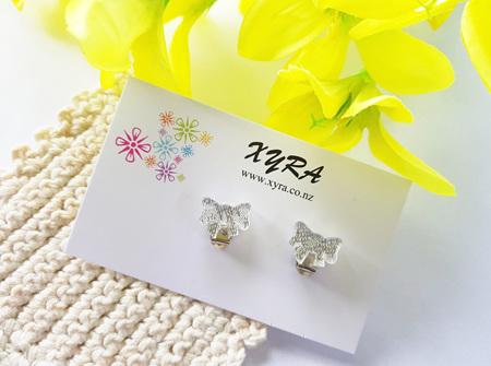 Pretty Clear Bow Clip-on Earrings