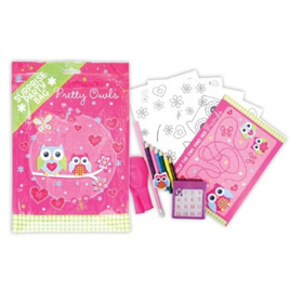 Pretty owls Surprise Party Pack