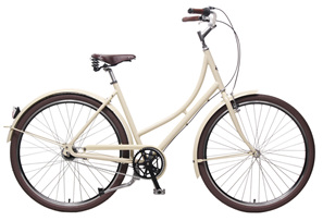 Prima Cream Ladies bike by Steelhorse