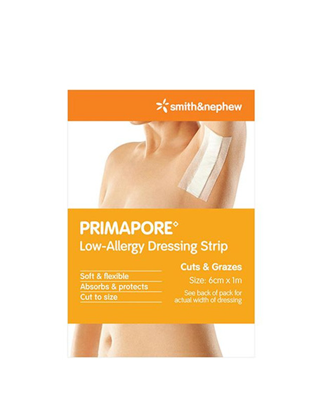 PRIMAPORE Dressing Strip 6x1m 1/pk