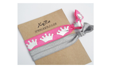 Princess Hair Ties (pack of 2) - regular card