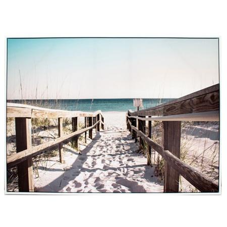 Print Summer Walkway 110x80cm
