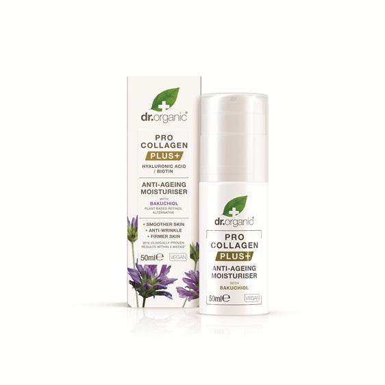 Pro Collagen+ Anti-Aging Moisturiser With Bakuchiol 50ml - dr. organic