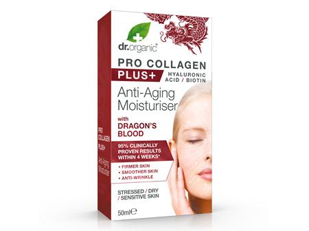 Pro Collagen+ Anti-Aging Moisturiser With Dragon's Blood 50ml - dr. organic