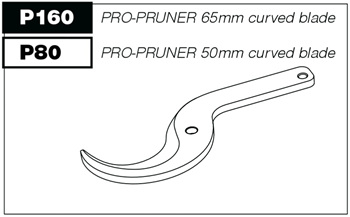 P160 Curved blade for P100 Pro-Pruner