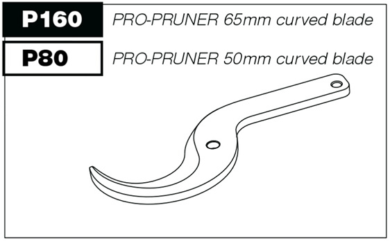 Pro-Pruner spare parts curved blade