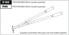 Pro-Pruner spare parts handles