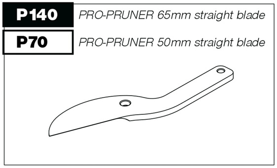 Pro-Pruner spare parts straight blade
