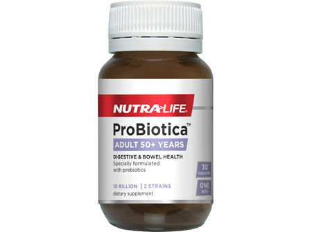 Probiotic 50 + Years - 30 Caps