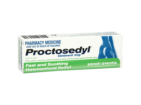 PROCTOSEDYL Oint 30g