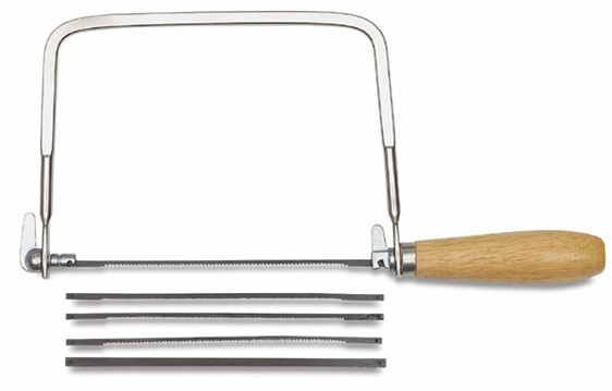 Proedge Coping Saw With Assorted Blades