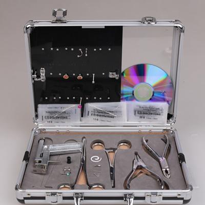 Professional Body Piercing Kit Ear Tougue Navel