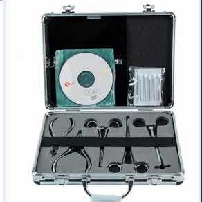 Professional Body Piercing Kit + Piercing Gun
