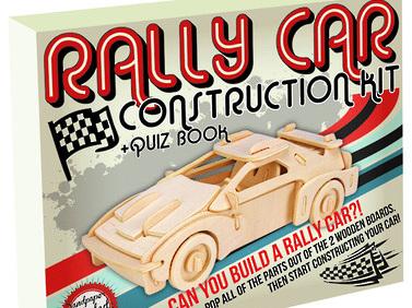 Professor Puzzle - Construction Kits - Retro Classic Vehicles - Rally Car