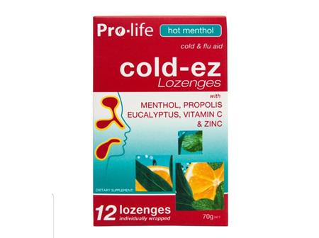 PROLIFE Coldez Hot Menthol 12 Loz.