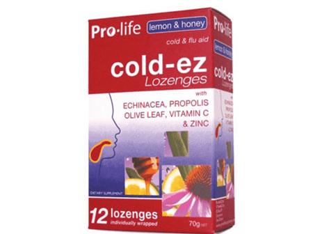 PROLIFE Coldez Lemon& Honey 12 Loz.