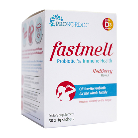ProNordic fastmelt Probiotics for Immune Health