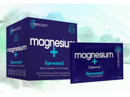 Pronordic Liposomal Magnesium + OptiNerve Sachets 30