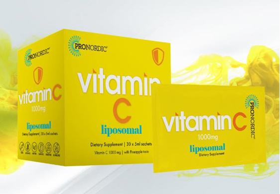 ProNordic Liposomal Vitamin C 1000mg 30 Sachets