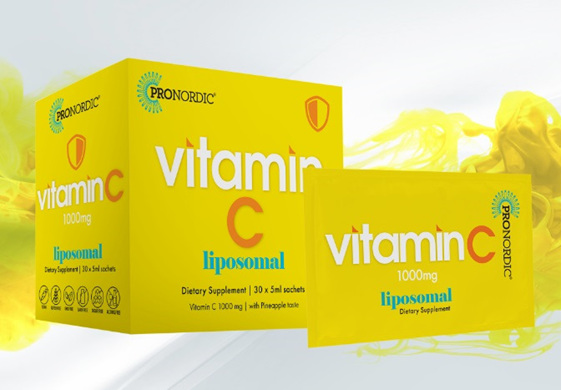 Pronordic Liposomal Vitamin C 1000mg Sachets 15