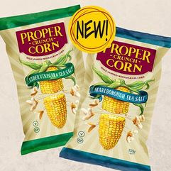 Proper Crisps Crunch Corn 150g bag