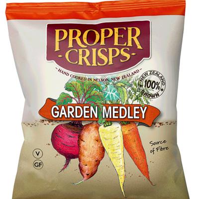 Proper Crisps  Garden Medley