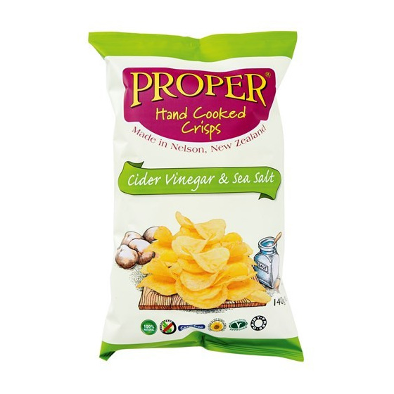 Proper Crisps hand cooked potato chips