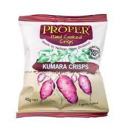 Proper Crisps Kumara Chips 100g