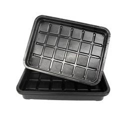 Propogation Hygiene Tray 450mm x 330mm x 70mm Black