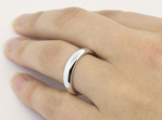 Proposal ring, sterling silver ring, engagement ring