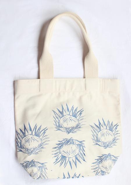 Protea Tote Bag with Webbing Handle