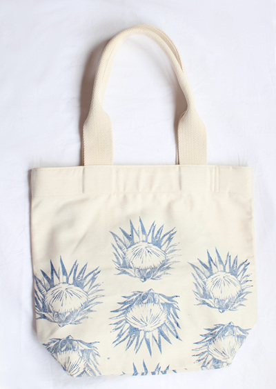Protea Tote Bag with Webbing Handle