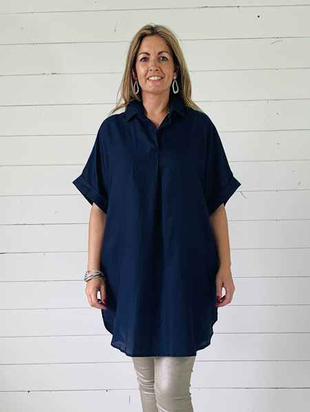 Prudence Top - Navy