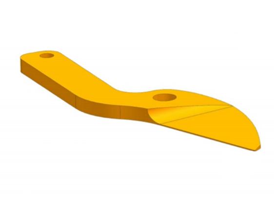 Pruning lopper blade