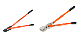 pruning loppers, forestry pruning loppers, tree pruning loppers, loppers