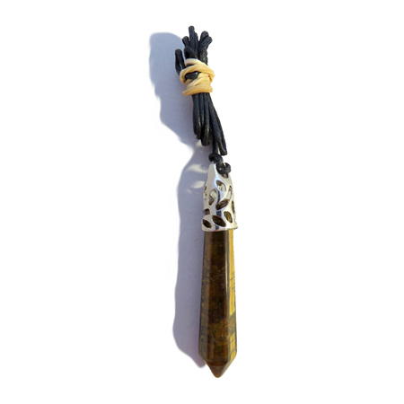 PS21 Tigers Eye Crystal Pendant