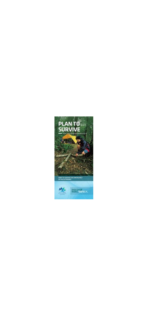 PTSP - Plan to Survive Pamphlet