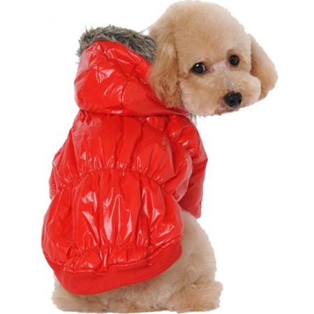 Puffer jacket - Red