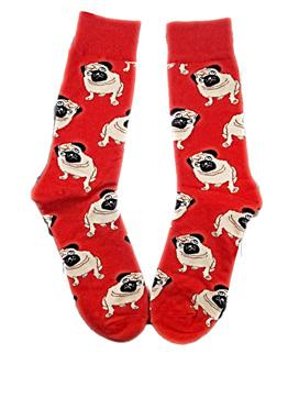 Pug Dog Socks