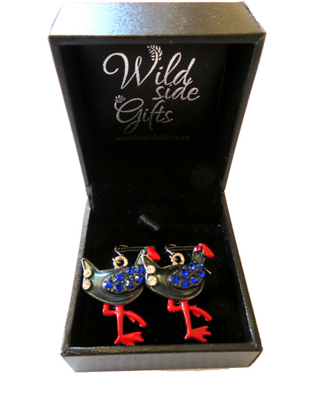 Pukeko Earrings