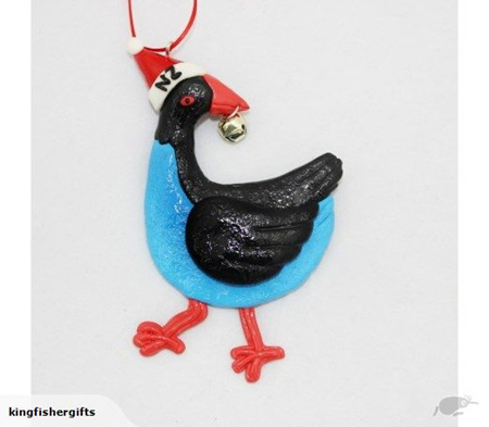 Pukeko hanging decoration
