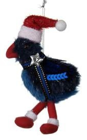 Pukeko - NZ Christmas Tree Decoration