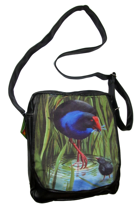 Pukeko shoulder bag