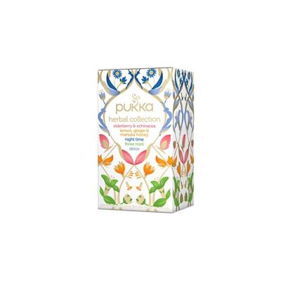 Pukka Organic Tea Herbal Teas - 20pk