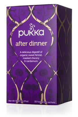 Pukka Tea - After Dinner 20 Herbal Tea Sachets